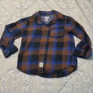 Carter's 3t button up